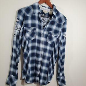 Stetson plaid shirt
